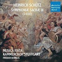 Schutz: Symphoniae Sacrae by BERNIUS / MUSICA FIATA (2009-08-28)
