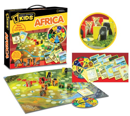 National Geographic Kids Africa Board Game