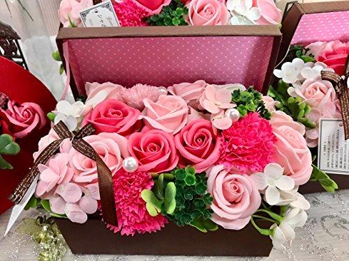 フレグランス シャボンフラワー ソープフラワー 紙石鹸 薔薇...