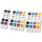 officeネット 4色セット × 2セット + BK 2本 / 互換インク PX-1001 PX-1004 対応 エプソン用 (10本)