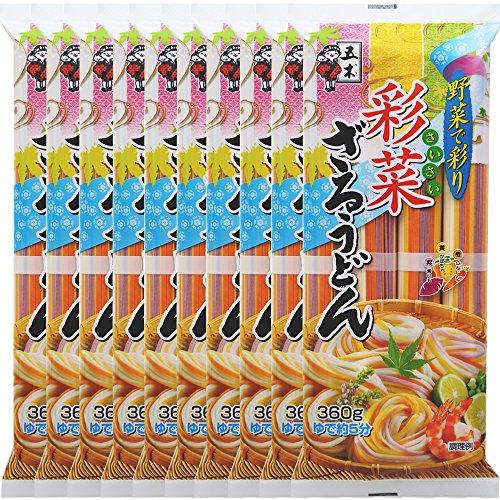 五木食品 彩菜ざるうどん(360g)