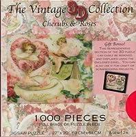 Cherubs & Roses Vintage 3D puzzle [並行輸入品]