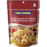 Tong Garden Honey Sesame Cashewnuts Mixed Walnuts, 150g