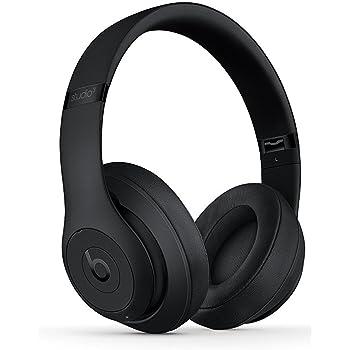 Beats by Dr.Dre ワイヤレスノイズキャンセリングオーバーイヤーヘッドホン Studio3 Wireless 連続再生最大約40時間 Bluetooth対応 W1チップ搭載 密閉型 通話可能 リモコン有り マットブラック MQ562PA/A 【国内正規品】