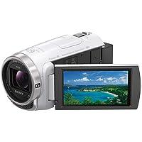 ソニー ビデオカメラ Handycam HDR-CX680 光学30倍 内蔵メモリー64GB ホワイト HDR-CX68…