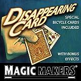 [マジック メーカー]Magic Makers The Disappearing Card Trick Special Bicycle Cards Included MM-0184 [並行輸入品]