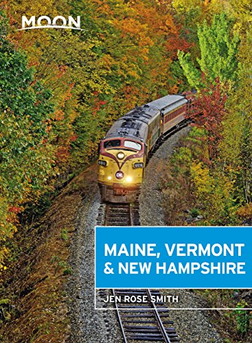 Moon Maine, Vermont & New Hampshire (Travel Guide) (English Edition)