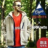 Cape Heights [ ケープハイツ ] / BREAKHEART x ARK STANDARD (別注 リミテッド フリース) XL タン