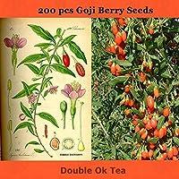 発芽SEEDS:盆栽200pcsの中国トップの品質スーパービッグgojiの果実の種子
