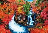 1000ピース ジグソーパズル 秋の竜頭の滝(49x72cm)