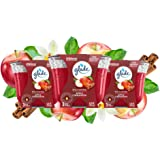 Glade Candle Jar, Air Freshener, 3-wick, Apple Cinnamon, 6.8 Ounce- Pack of 3