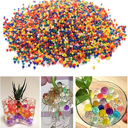 水で膨らむ!ぷよぷよボール ジェリーボール DIY ガーデニング/水耕栽培/培養土類 7色(約2000粒入)