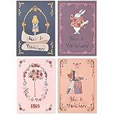 モノライクストーリー·ミニノートアリス 4種 セットStory mini notebook Aliceレビュー,レシピ,ダイエット,チェックリスト,ダイエット,旅行プラン 多様な用途とカラーのノート ミニカラーノート