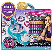 Cool Maker Kumikreator Friendship Bracelet Maker Makes Up to 10 Bracelets for Ages 8 and Up