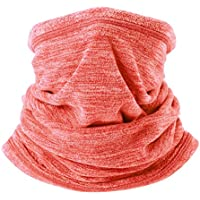 WTACTFUL 2 Pack or 1 Pack - Soft Fleece Neck Gaiter Warmer Face Mask for Cold Weather Winter Outdoor Sports