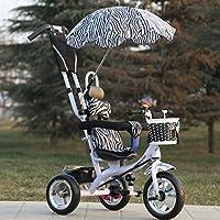 QXmEi Children 's Tricycle 1–6多機能子供の三輪車ベビー自転車幼児カートKids Bike 02170