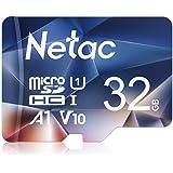 Netac microsd カード 32GB microSDXC UHS-I 読取り最大90MB/s 600X U1 C10 フルHD ビデオV10 A1 FAT32 高速フラッシュTFカード Nintendo Switch対応(ラップトップ/Blu