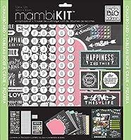 me & my BIG ideas Chalkboard Doodle Mambi Scrapbook Kit 12 by 12-Inch [並行輸入品]