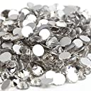 ガラス製ラインストーン 1440粒 ネイル デコ クリスタル (3.0mm (SS12) 約1440粒) 並行輸入品