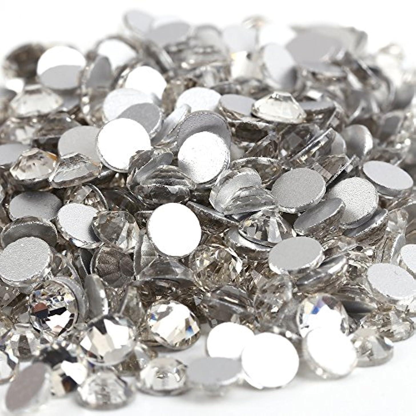 ベル一眠いですガラス製ラインストーン 1440粒 ネイル デコ クリスタル (3.0mm (SS12) 約1440粒) [並行輸入品]