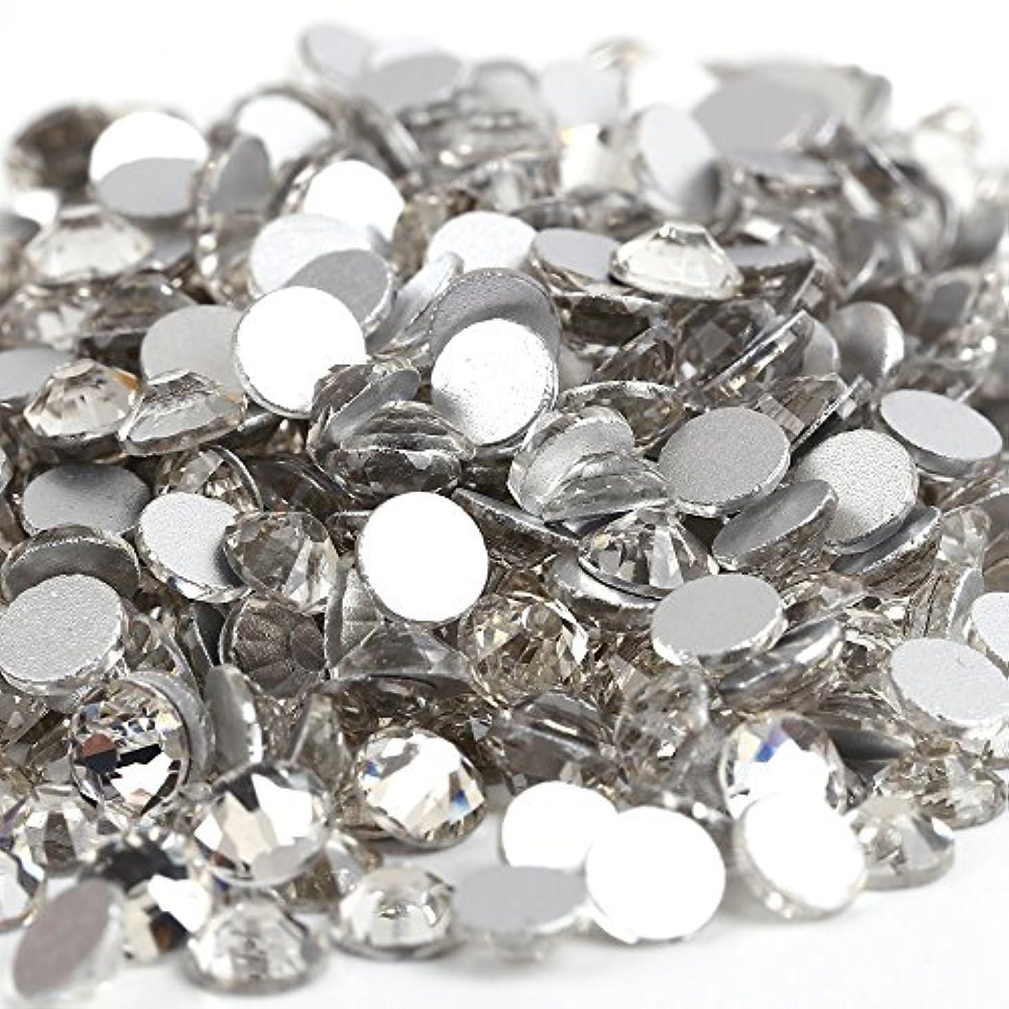 ペン奨励バングラデシュガラス製ラインストーン 1440粒 ネイル デコ クリスタル (3.0mm (SS12) 約1440粒) [並行輸入品]