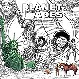 エイプ Planet of the Apes Adult Coloring Book
