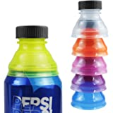 Mity rain 6 Pack Can Bottle Tops/Pop Can Lids for Soda, Beer, Energy Drinks, Juice, Seltzer/Reusable Fizz Lids