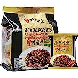 Paldo Ilpum Jjajang Noodles, 4 x 200g