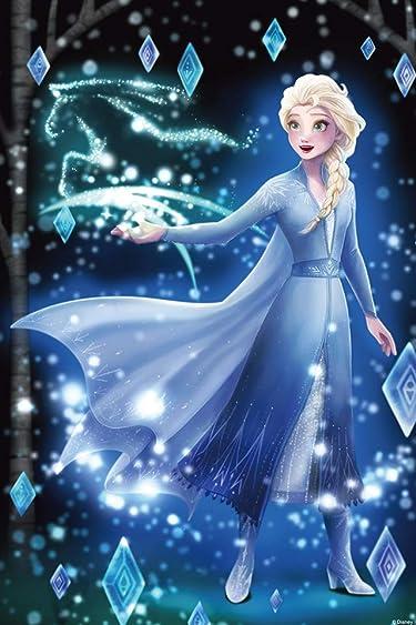ディズニー  iPhone/Androidスマホ壁紙(640×960)-1 - アナと雪の女王2 (エルサ)