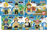 ワンピース キューブメイト2 全7種set ルフィ/ゾロ/サンジ/チョッパー/シャンクス/エース/ロビン