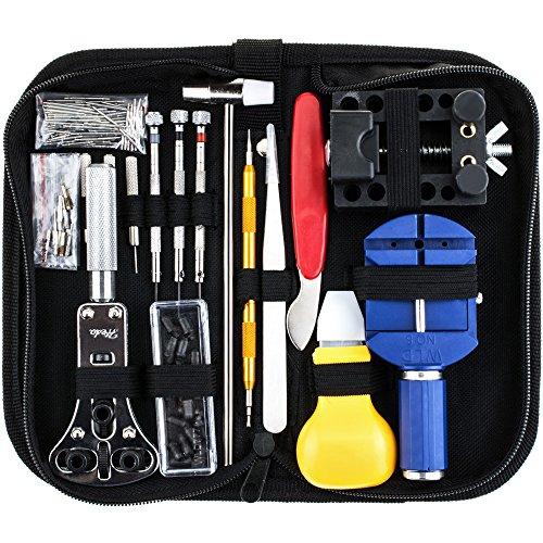 Zacro 147 in 1 時計修理工具セット 腕時計工具キット バネ棒外し 時計バンド用工具