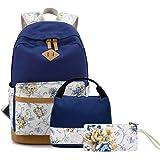 FLYMEI Backpack for Teen Girl, Lightweight Bookpack for School, 15 Inch Laptop Bag, Travel Casual Daypack Kids Backpacks