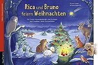 Rica und Bruno feiern Weihnachten: Ein Folien-Adventskalender zum Vorlesen und Gestalten eines Fensterbildes Mit Stoffschaf