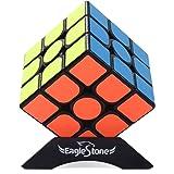 Eagle Stone スピードキューブ 磁石キューブ 魔方 立体パズル マジックキューブ 室内遊び 室内ゲーム スタンド付き 回転スムーズ 世界基準配色 磁石内蔵 マグネット 競技用キューブ 初級者向け(3x3x3)ポップ防止 脳トレ ステッカー