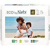 Eco by Naty Pull-Ups Training Pants, 2T-3T (Size 4), 22 Ct, Plant-Based and No Nasty Chemicals