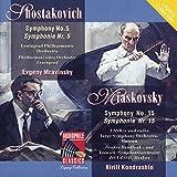 Shostakovich: Symphony No. 5 - Myaskovsky: Symphony No. 15