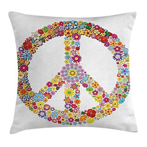 Modern Decor Pillow case Flora...
