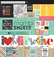 "MAMBI Paper Pad 12""X12"" 48/Pkg-Quoted (並行輸入品)"