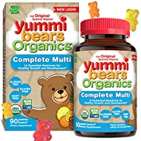 Hero Nutritionals Products - YummiはOrganicsの完全な多ビタミンに耐える - 1グミ