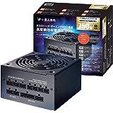玄人志向 80Plus GOLD 750W ATX 電源 ユニット フルプラグイン セミファンレス KRPW-GA750W/90+