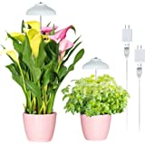 GrowLED LED Umbrella Plant Grow Light, Herb Garden, Height Adjustable, Automatic Timer, 5V Low Safe Voltage, Ideal for Plant