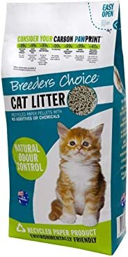 Breeders Choice Recycled Paper Cat Litter, 6 Liter