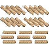 木ダボ 6×20mm 100個 ダボマーカー 木釘 木工ダボ 家具 DIY つなぎ ジョイント