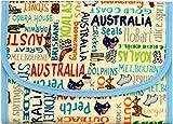 ポーチェ(pouche) 母子手帳ケース ジャバラ 防水 アニマル ロゴ スター ネコ (Australiaアイボリー)
