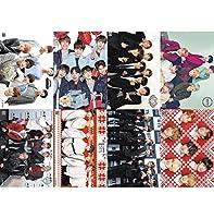 8pcs Kpop BTS got7BlackPinkポスターBambamジャクソンリサ・ローズお土産ギフト