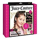 JUICY COUTURE Make It Real - Juicy Couture Hair Candy Accessories. Tween Girls Hair Accessories and Charms Kit. DIY Girls Hair Ties, Velvet Scrunchies, Beaded Bobby Pins, Gem Stickers, Juicy Hair Charms and More
