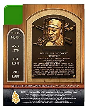 Willie McCovey MLB San Francisco Giants G2S1 Hall of Fame Mini ミニ Figure フィギュア OYO [並行輸入品]