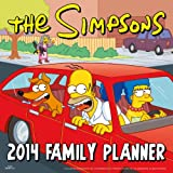 Official The Simpsons Family Planner 2014 Calendar (Calendars 2014)
