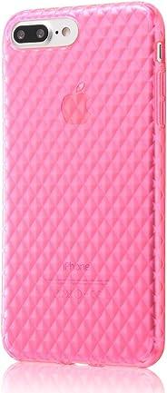 レイ・アウト iPhone7 Plus ケース TPUソフトケース(ラメ入り) キラキラ/ピンク RT-P13C7/P