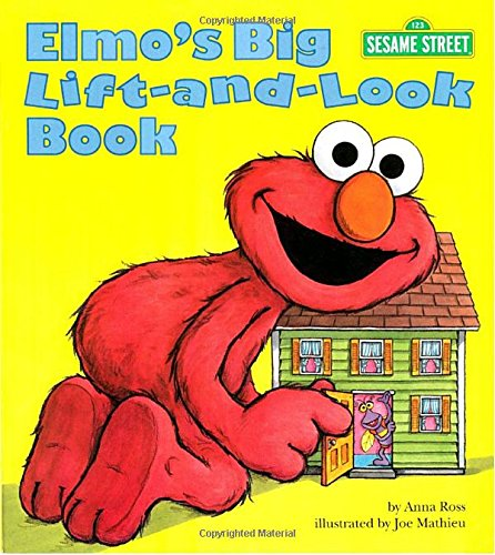 Elmo's Big Lift-and-Look Book (Sesame Street) (Great Big Board Book)の詳細を見る